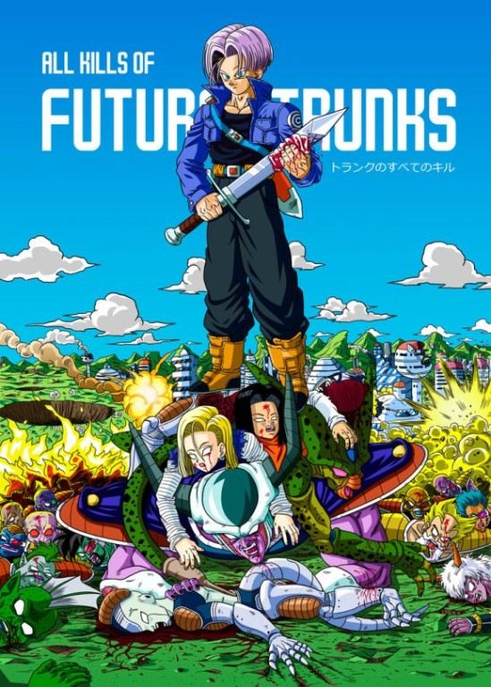 DBZ Future Trunks victimes