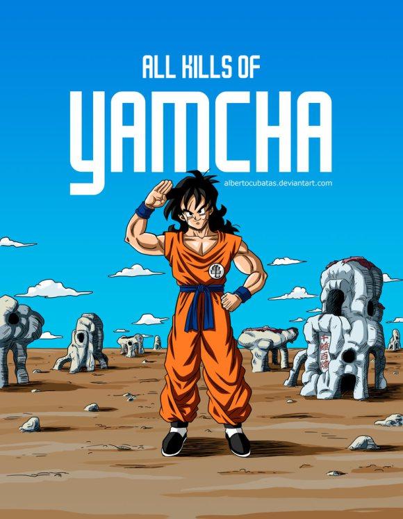 DBZ Yamcha victimes