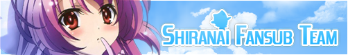 Bannière de la team Shiranai Fansub Team