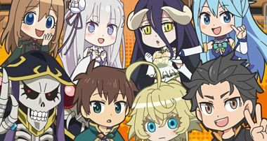 Telecharger Isekai Quartet DDL